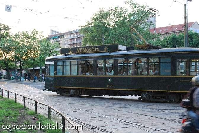 ATMosfera: Restaurant Tranvía de Milano, comer conociendo la ciudad