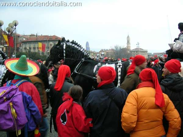 Carnaval de Naranjas en Ivrea (Fotos)