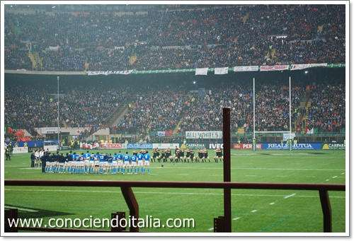 Fotos San Siro – All Blacks vs Italia