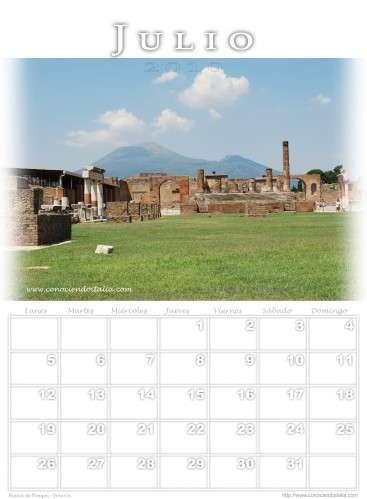 Ruinas de Pompei & Vesuvio