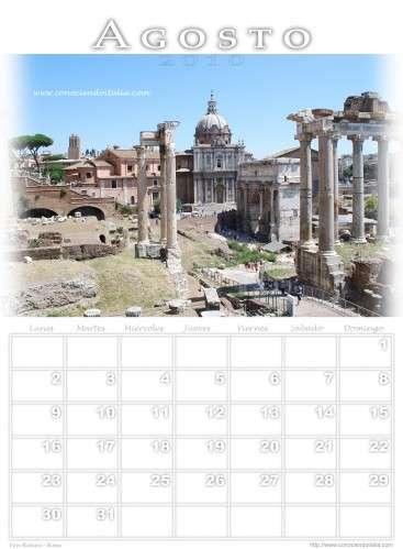 Ruinas Foro Romano - Roma