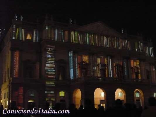 Fotos del Festival de las Luces de Milán.