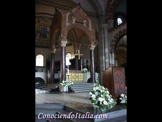 Fotos de la Basílica de Sant'Ambrogio en Milán