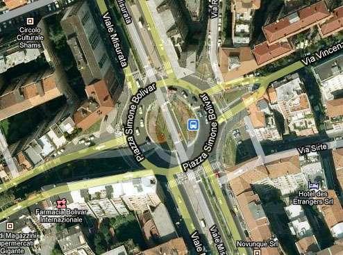 Sabías que en Milán hay una Plaza dedicada a Simón Bolivar