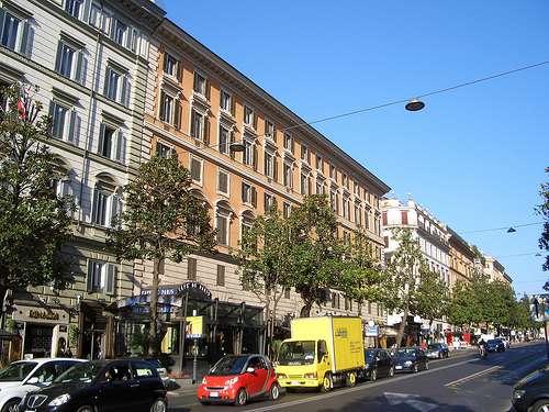 Via Veneto roma