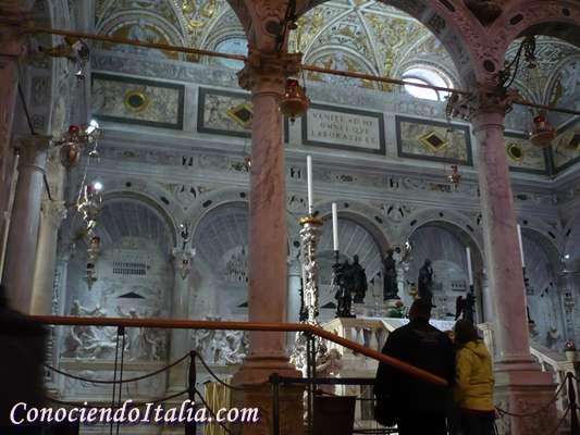 Capilla del Arca, Basílica de San Antonio de Padua