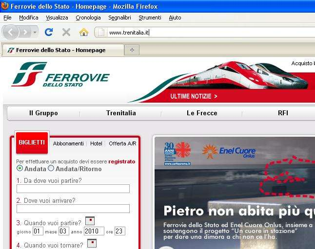 Cuales son los tipos de trenes de Italia