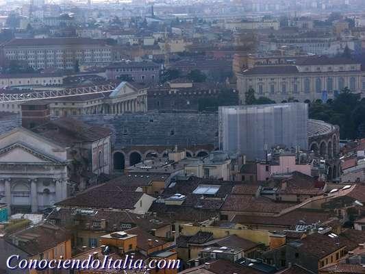 Verona desde el alto