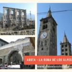 Qué ver y hacer en Aosta – Región Valle de Aosta