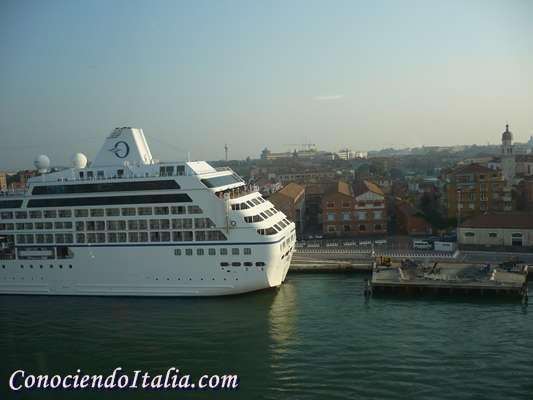 Fotos de Venecia desde un crucero