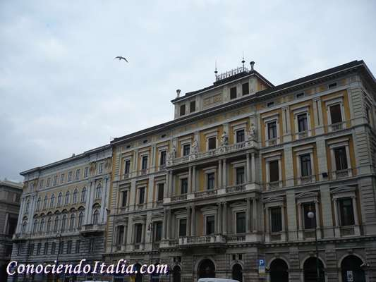 Fotos de Trieste,ciudad italiana de frontera
