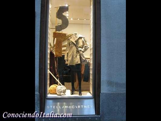 Fotos del cuadrilatero de la moda en Milán