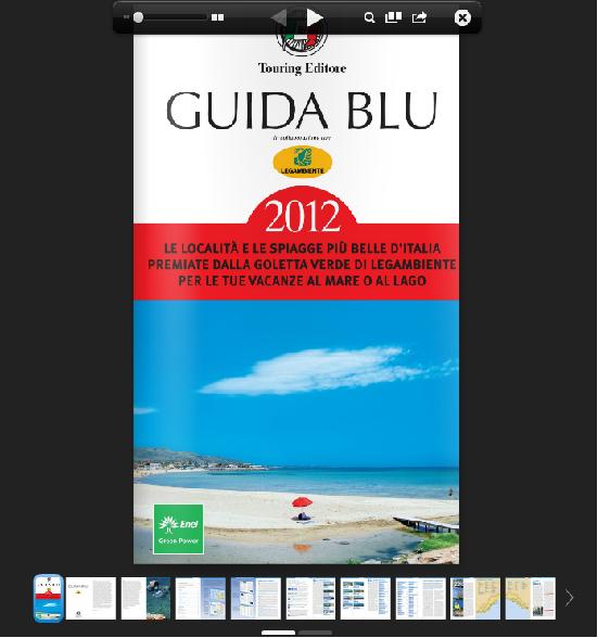 Mejores playas de Italia 2013 Según Legambiente – Guida Blu 2013