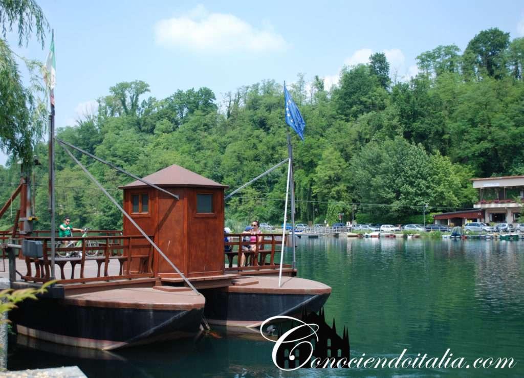 Barco sin motor de Leonardo Da Vinci