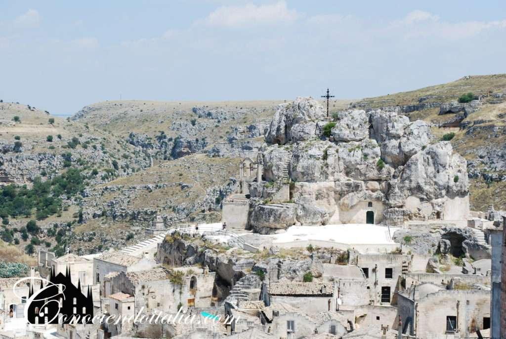 Vista panoramica de Matera