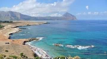 Visitar y conocer la playa de San Vito lo Capo en Sicilia