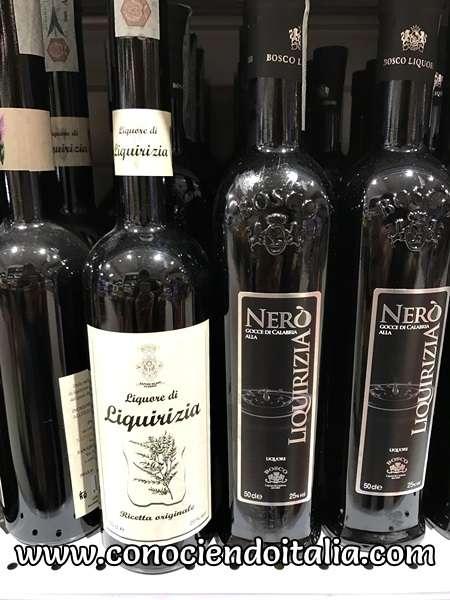 Licor de Liquirizia - Calabria