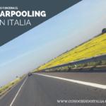 Carpooling y Carsharing en Italia – Cómo funciona y Compañías más utilizadas