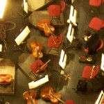esperando por el resto de la orquesta