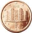 un centesimo de euro italiano