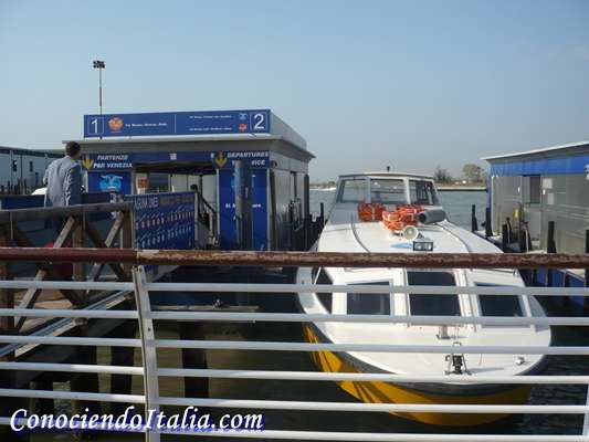 Aeropuerto Marco Polo VCE – Cómo llegar desde el aeropuerto a Venecia