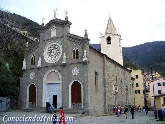 Iglesia de Riomaggiore - Que ver y hacer