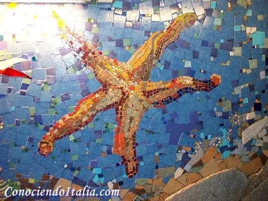 Mosaicos estación de trenes