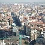 Pirellone, el edificio más alto de Milán – Vista panorámica de Milano