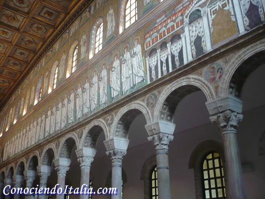 Visitar los mosaicos de Rávena
