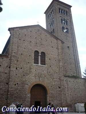 iglesias y monumentos que visitar en Ravenna
