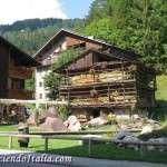 Falcade, la principal localidad del valle del BIOIS