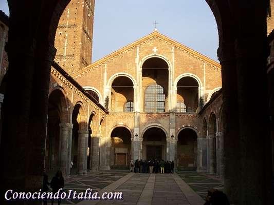 Basílica de San Ambrosio, Patrón de Milán