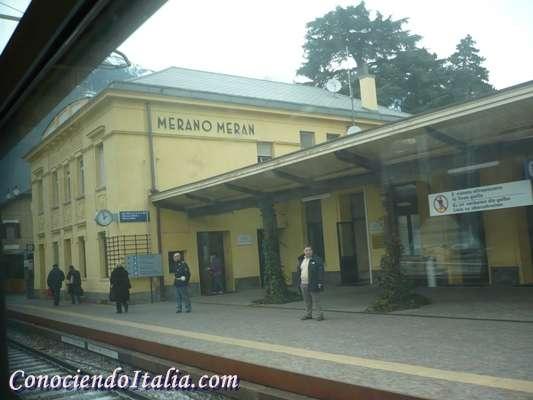 como llegar a Merano
