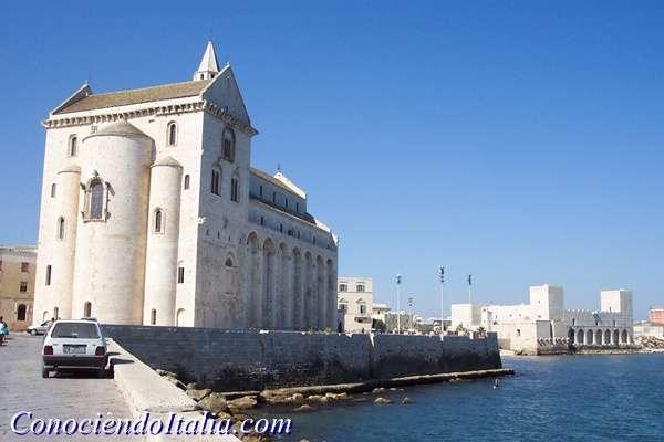 TRANI y su bellísima Catedral – Que ver y hacer – Apulia