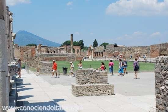 Como llegar a Pompeya desde Nápoles