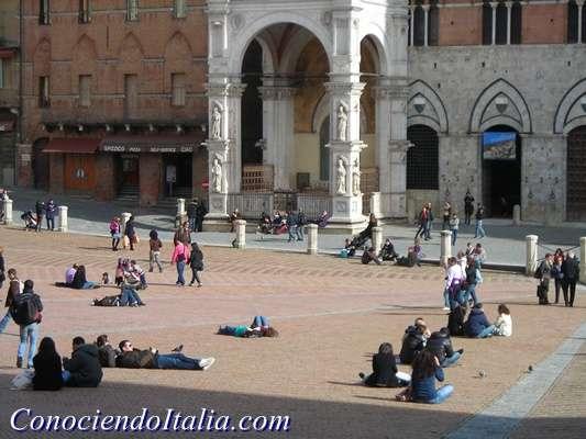 Plaza del Campo Siena