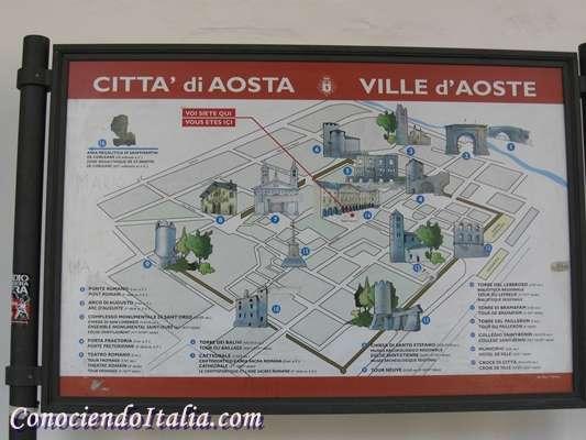 Que ver y hacer en Aosta