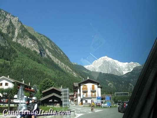 """Visitar Courmayeur, """"la perla de los Alpes """""""