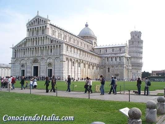 Que ver en La Plaza de los milagros en Pisa