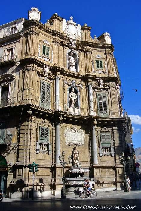 Plaza Quattro Canti Palermo