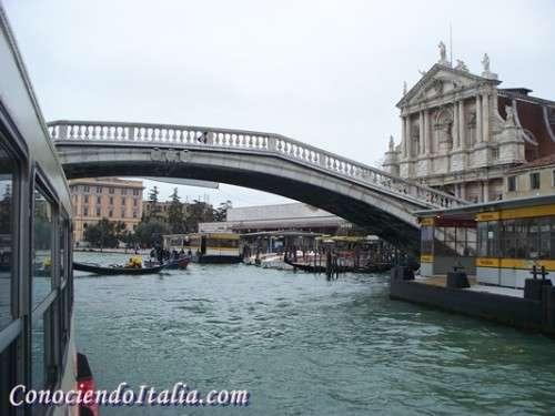 Puente de los Descalzos de Venecia