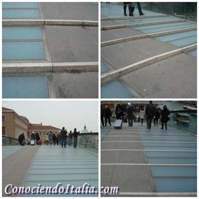 Detalle Puente de la Constitución de Venecia