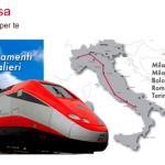 Trenes Alta Velocidad en Italia – Tipos, rutas, y ofertas – Trenitalia