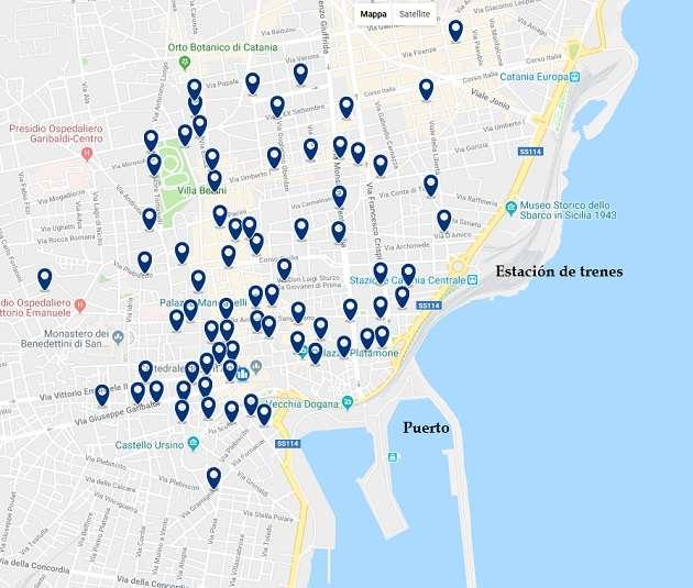 donde alojarse en Catania