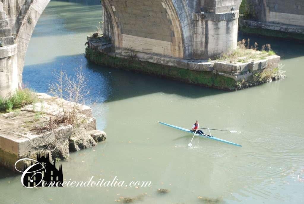 Curiosidades del río Tiber en Roma