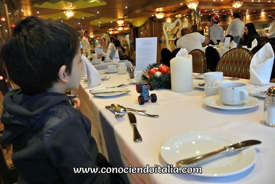 Restaurante Taurus - Costa luminosa