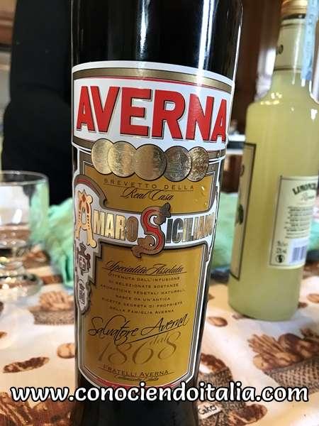 Licor Averna - Sicilia