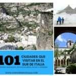 101 Ciudades que visitar en el Sur de Italia