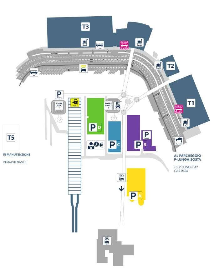 Aeropuerto fiumicino a roma como ir distancia precios for Oficina alitalia madrid