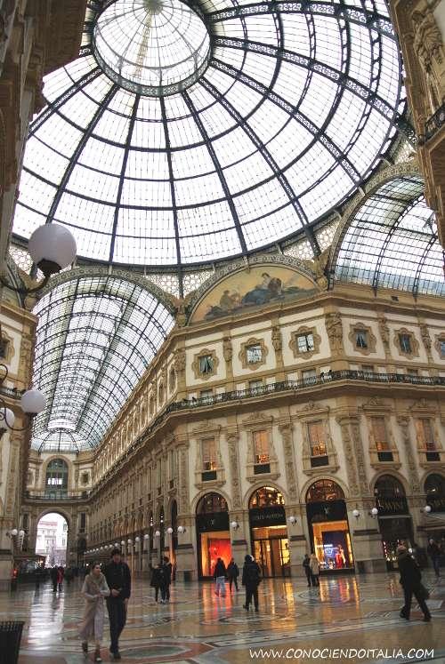 Galería Vittorio Emanuele II de Milán -